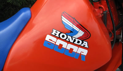 1985 Honda XL600R Decals