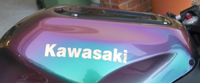 Kawasaki ZX-12R Tank Decal 2003 Model