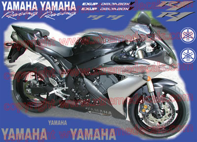Yamaha R1 Decal Kit 2004 Model
