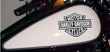 Harley Decals Pair