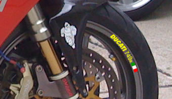 Ducati 749r Rim Decal set