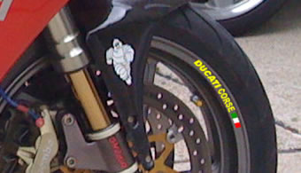 Ducati Corse Rim Decal set
