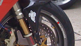 Ducati Multistrada Rim Decal set