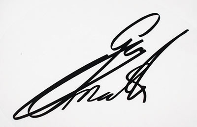 Guy Martin Autograph Decal