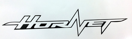 Honda Hornet decal