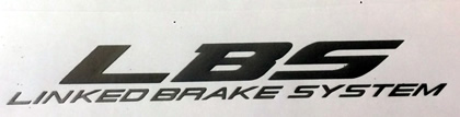 LBS Linked Brake System decal for Honda Blackbird