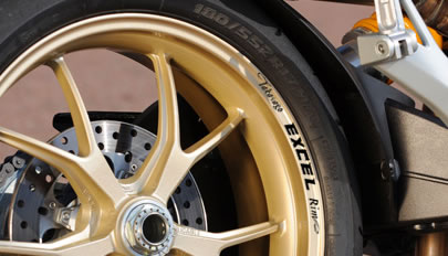 TAKASAGO EXCEL RIM Wheel Rim decals