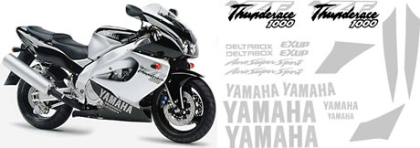 Yamaha Thunderace YZR 1000R Decal set