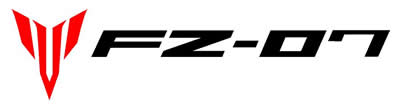 Yamaha FZ07 Decal