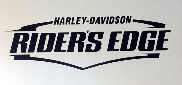 Harley Davidson Riders Edge Decal