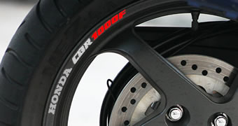 Honda CBR 1000F Rim Decal set