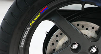 Honda Shadow HRC Rim Decal set