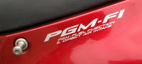 PGM-F1 decal for Honda Blackbird 1999