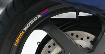 Repsol Honda HRC Rim Decal set