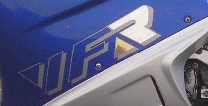 Honda VFR Decal 3 Colour